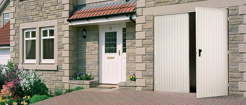 up and over garage doors in flintshire,  wessex garage doors in flintshire