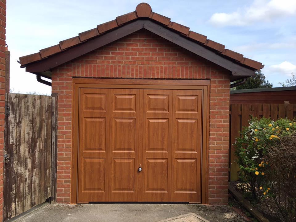 Georgian Up And Over Garage Doors Garage Doors In Flintshire