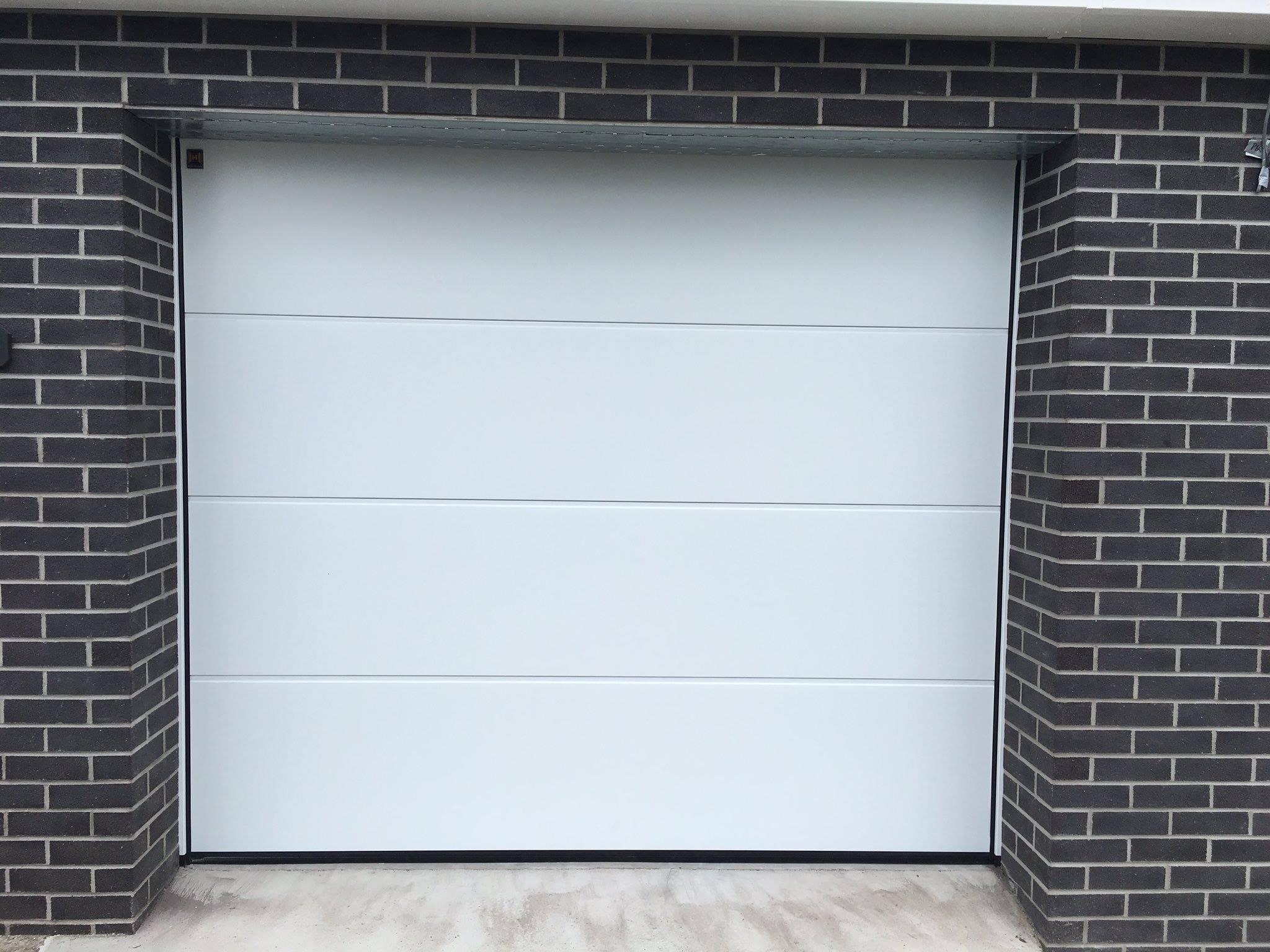 L Ribbed Sectional Garage Doors Electric Garage Doors In
