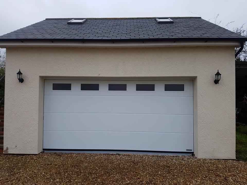 L Ribbed Sectional Garage Doors Garage Door Repairs North