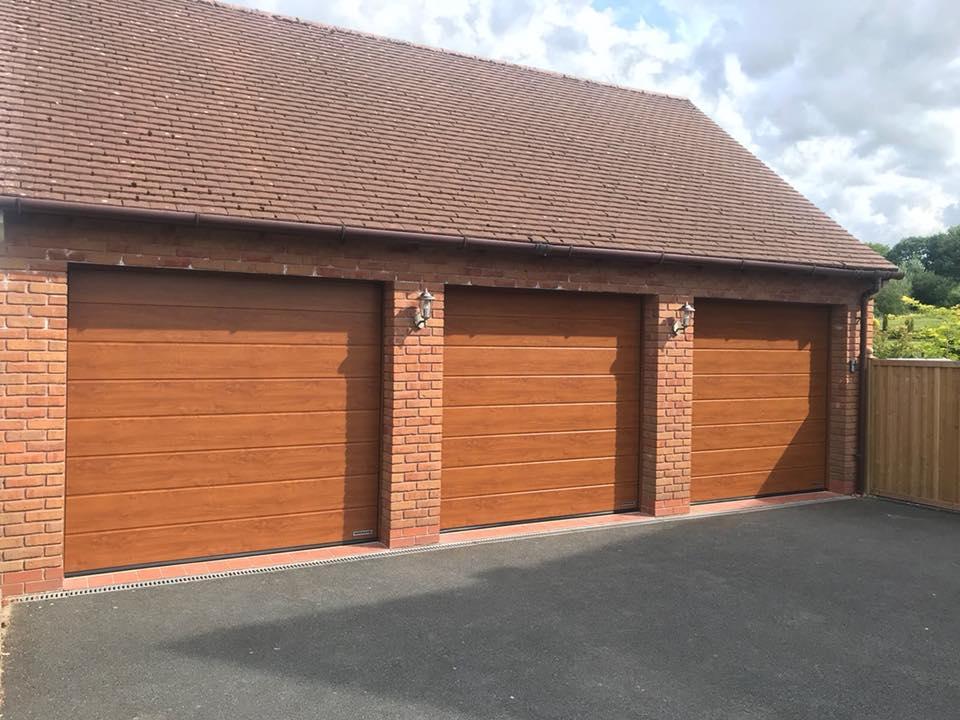 M Ribbed Sectional Garage Doors Electric Garage Doors In