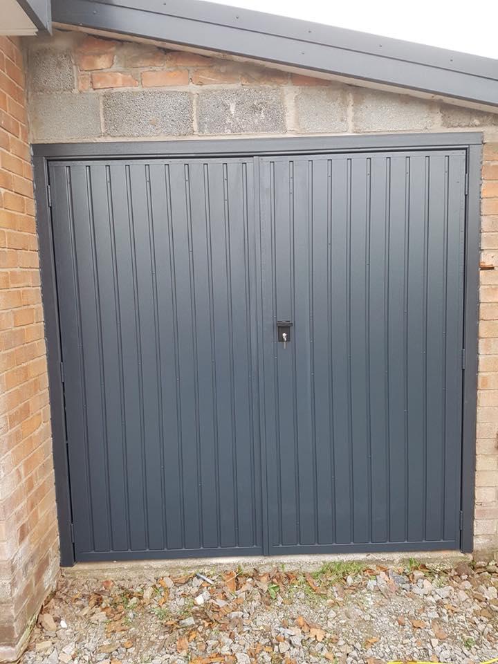Rivington Side Hinged Garage Doors Electric Garage Doors