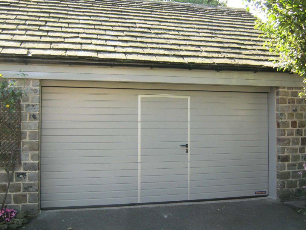 S Ribbed Wicket Door Sectional Garage Doors Electric Garage Doors